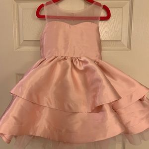 Girls Rare Editions Blush Pink Dress, size 4t